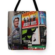 Times Square 7 Tote Bag
