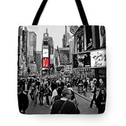Times Square New York Toc Tote Bag