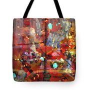 Times Square Reflections Tote Bag