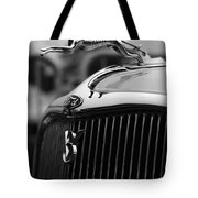 Timmis-ford V8 Greyhound Hood Ornament Tote Bag