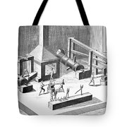 Tin Plate Manufacture Tote Bag