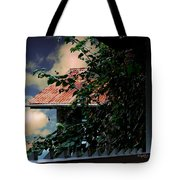 Tin Roof And Vines Tote Bag