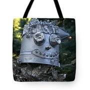 Tinman Scarecrow Tote Bag