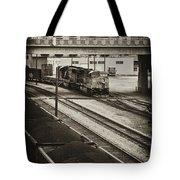 Tinted Train Tote Bag