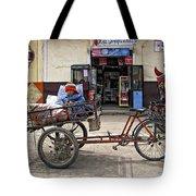 Tiny Biker Tote Bag