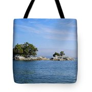 Tiny Island Off Vancouver Island Tote Bag