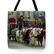 Tiny Pony Carriage Tote Bag