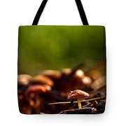 Tiny Shrooms Tote Bag