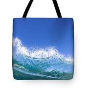 Tip Of A Breaking Wave Tote Bag