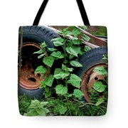 Tires And Ivy Tote Bag