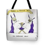 Tis Christmas Night Tote Bag