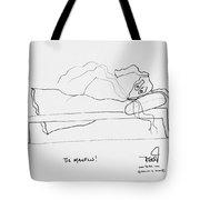 Tis Manflu Tote Bag