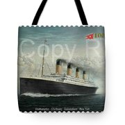 Titanic Memorial Stamp Tote Bag