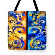 To Harness The Moon And The Sun Tote Bag