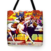 To The Finish Tote Bag