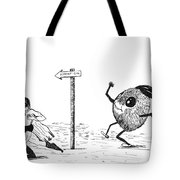 To The Hideout Tote Bag