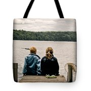 Toes In The Water Tote Bag