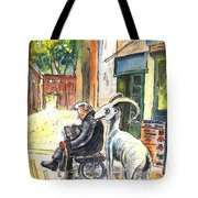 Together Old In Cyprus 02 Tote Bag
