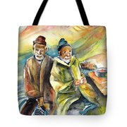 Together Old In Morocco 02 Tote Bag