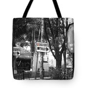 Toilet Sign Tote Bag