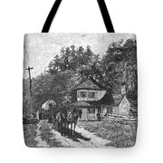 Toll Gate, 1879 Tote Bag