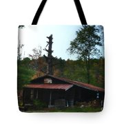 Toll Gate House Tote Bag