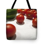 Tomato And Cucumber 2 Tote Bag