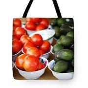 Tomato Y Avacado Tote Bag