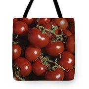 Tomatoes At A Market In Provence Tote Bag