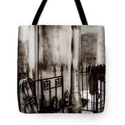 Tomb Famille Perrault Black And White Tote Bag