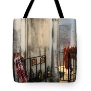 Tomb Of Famille Perrault Tote Bag