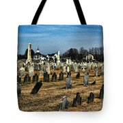 Tombstones Tote Bag by Paul Ward