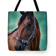 Tommy - Horse Painting Tote Bag