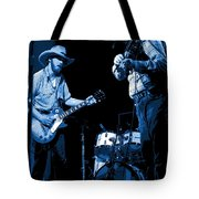 Tommy And Charlie Play Some Blues At Winterland In 1975 Tote Bag