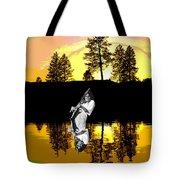 Amber Lake #4 Tote Bag