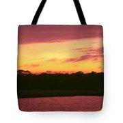 Tomoka River Sunset Tote Bag