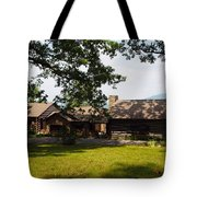 Tom's Cabin In Newport Tote Bag