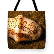 Flamingo Tongue On A Plate Tote Bag