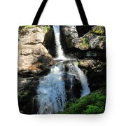 Top Of Kent Falls Tote Bag