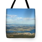 Top Of Mount Wellington Tasmania Tote Bag