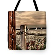 Top Of The Bay Tote Bag