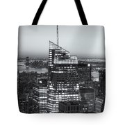 Top Of The Rock Twilight Viii Tote Bag