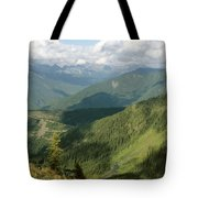 Top Of The World View Tote Bag