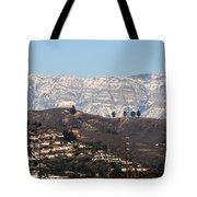 Topa Topa Snow Tote Bag