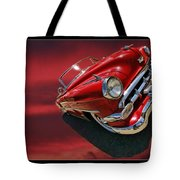 Topless Chevy Tote Bag