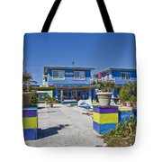 Topsail Island Patio Playground Tote Bag