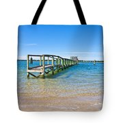 Topsail Island Sound Tote Bag