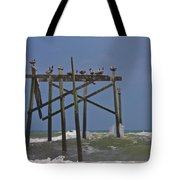 Topsail Ocean City Pelicans Tote Bag