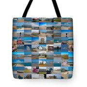 Topsail Visual Contemporary Quilt Series IIi Tote Bag