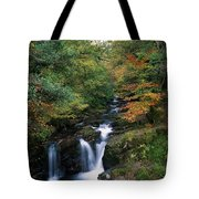 Torc Waterfall, Ireland,co Kerry Tote Bag